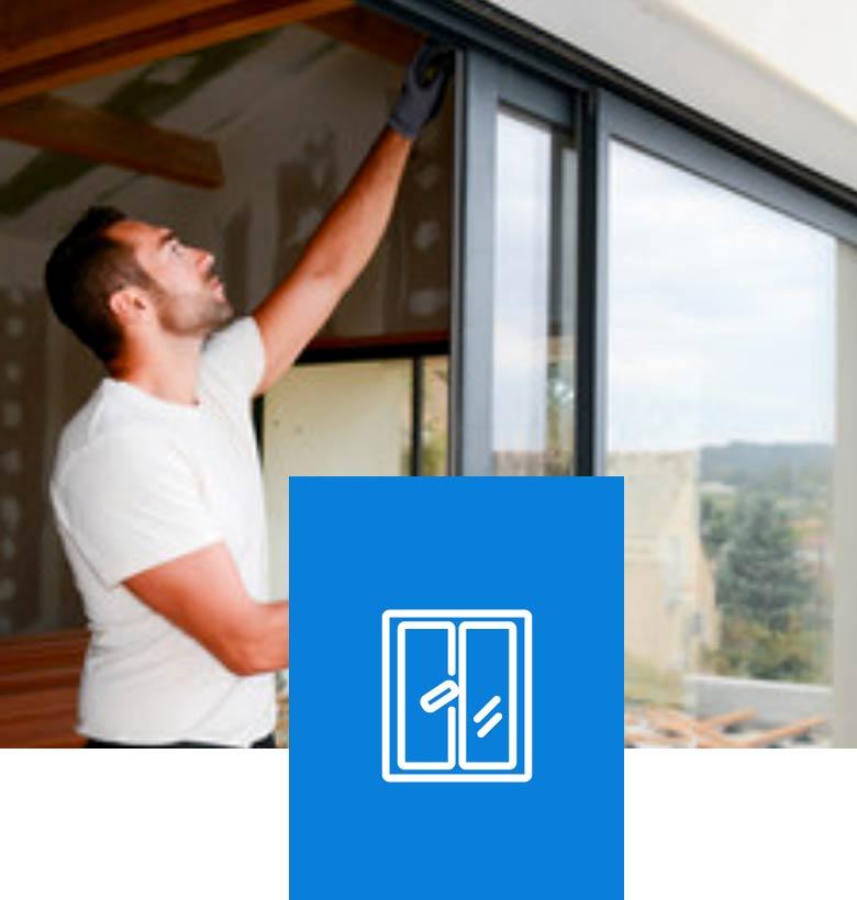 pose vitrerie baies et fenêtres